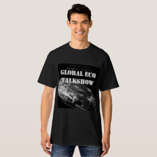 Man and woman combined use global echo talk show T T-Shirt