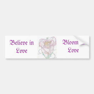 Man and Woman in Rose Bumper Sticker