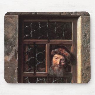 Man at a Window, 1653 Mouse Mat