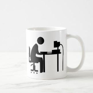 Man at Work Coffee Mug