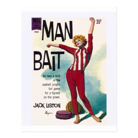 Man Bait! Postcard