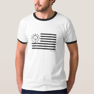 Man Be Quiet Flag T-Shirt