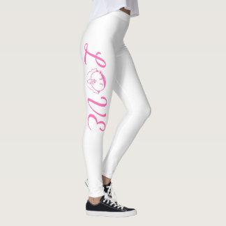 Man Be Quiet Leggings LOVE in hot pink – Women's