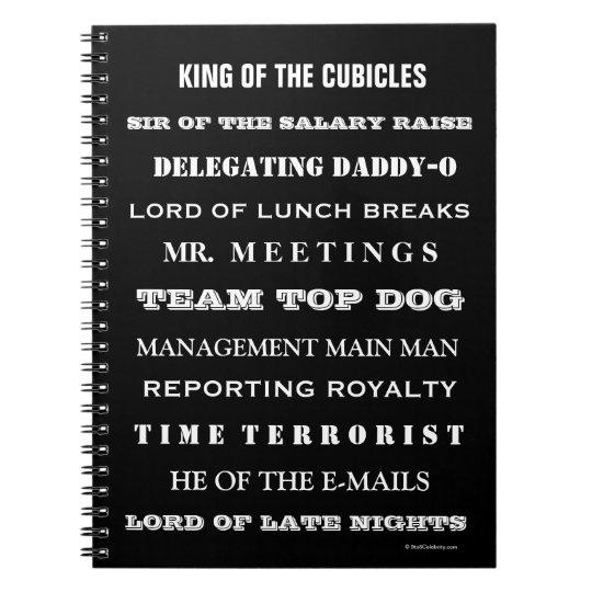 Man Boss Funny Job Titles and Joke Names