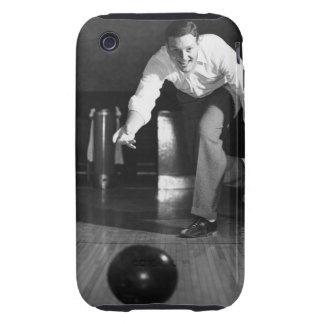 Man Bowling iPhone 3 Tough Covers