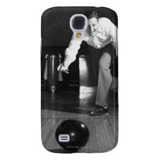 Man Bowling Galaxy S4 Case