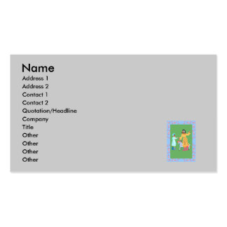 man boy mule pack of standard business cards