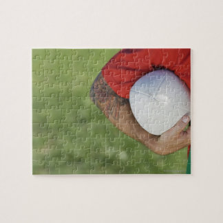 Man carrying rugby ball jigsaw puzzle