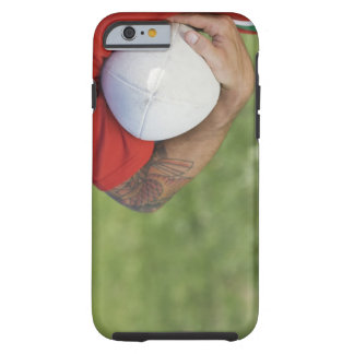 Man carrying rugby ball tough iPhone 6 case