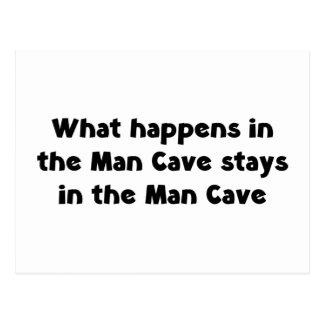 Man Cave Postcard