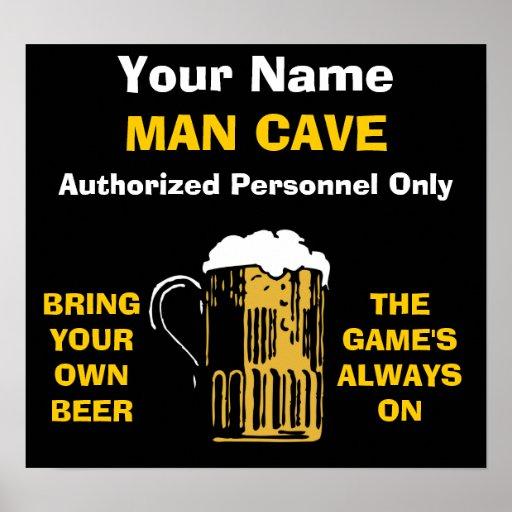 Man Cave Names : Man cave rules sign memes