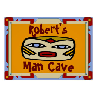 Man Cave Sign (edit name)