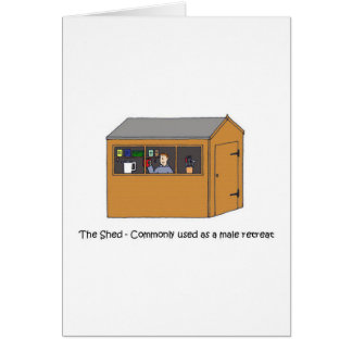 Man Cave - The Shed Card