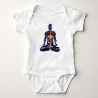 man chakras baby bodysuit