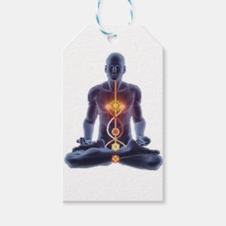 man chakras gift tags