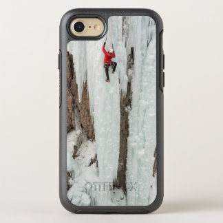 Man climbing ice, Colorado OtterBox Symmetry iPhone 7 Case