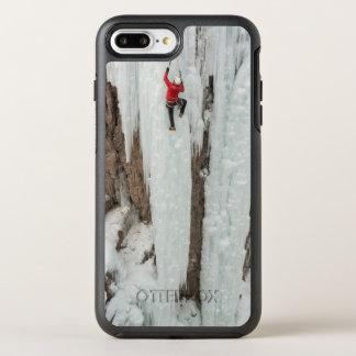 Man climbing ice, Colorado OtterBox Symmetry iPhone 7 Plus Case