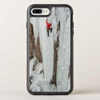 Man climbing ice, Colorado OtterBox Symmetry iPhone 8 Plus/7 Plus Case