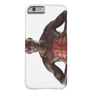 Man clutching basketball barely there iPhone 6 case