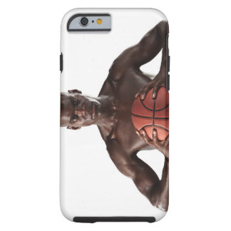 Man clutching basketball tough iPhone 6 case