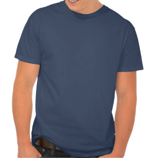 """Man Code Participant"" Navy Blue Sledders.com Tshirt"