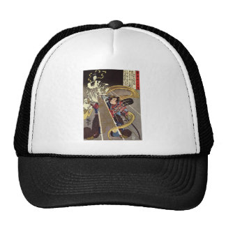 Man Confronting Fox Goddess Apparition Trucker Hat