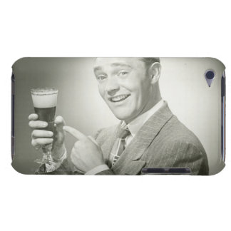 Man Drinking Barely There iPod Case