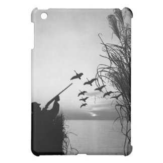 Man Duck Hunting iPad Mini Cases