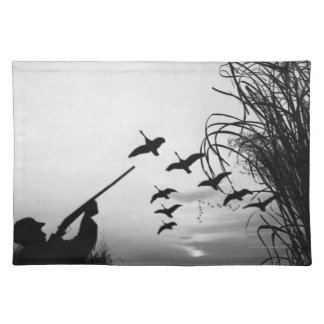 Man Duck Hunting Placemat