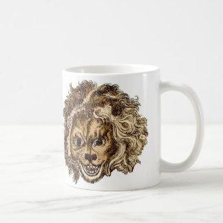 MAN-EATING LION BASIC WHITE MUG