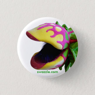Man Eating Plant Button