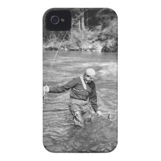Man Fishing Case-Mate iPhone 4 Cases