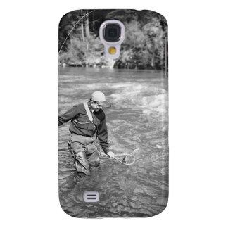 Man Fishing Galaxy S4 Case