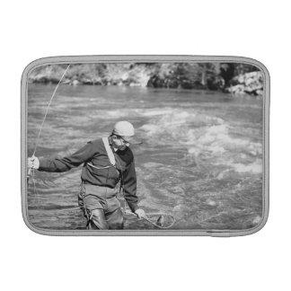 Man Fishing Sleeve For MacBook Air