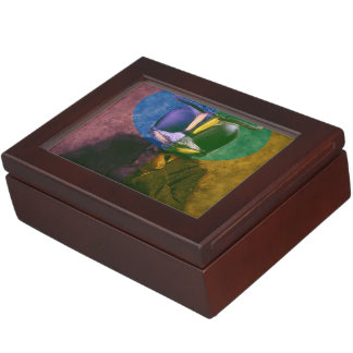 Man fly keepsake box