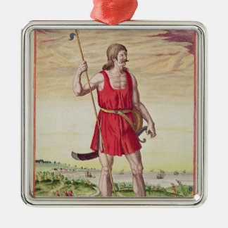Man from a Neighbouring Tribe to the Picts Christmas Ornament
