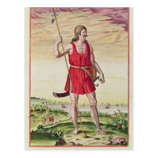 Man from a Neighbouring Tribe to the Picts Postcard