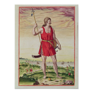 Man from a Neighbouring Tribe to the Picts Poster