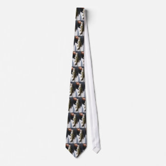 Man holding a Large Mouth Bass Tie