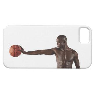 Man holding basketball iPhone 5 case