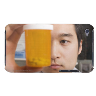 Man holding pill bottle iPod touch Case-Mate case