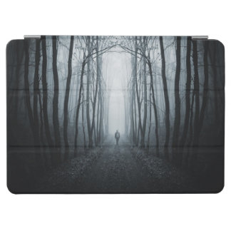 Man In A Dark Fantasy Forest iPad Air Cover