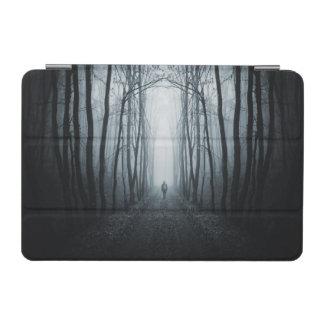 Man In A Dark Fantasy Forest iPad Mini Cover