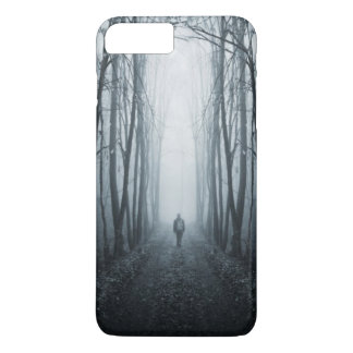Man In A Dark Fantasy Forest iPhone 8 Plus/7 Plus Case
