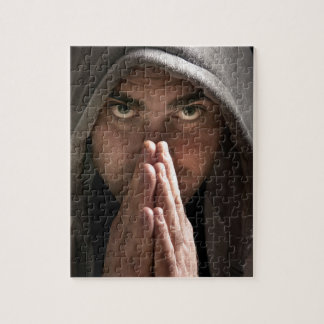 Man in a hoodie jigsaw puzzle