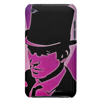 Man in a Top Hat iPod Touch Case-Mate Case