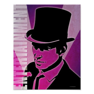 Man in a Top Hat Posters