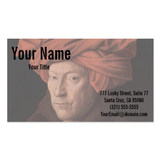 Man in a Turban Pack Of Standard Business Cards
