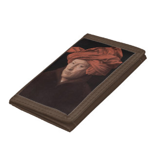 Man in a Turban Trifold Wallets