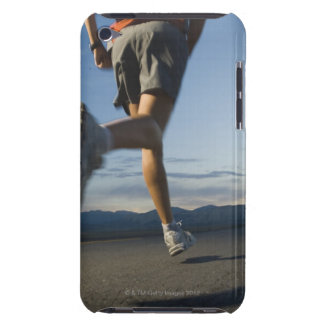 Man in athletic gear running iPod touch cover